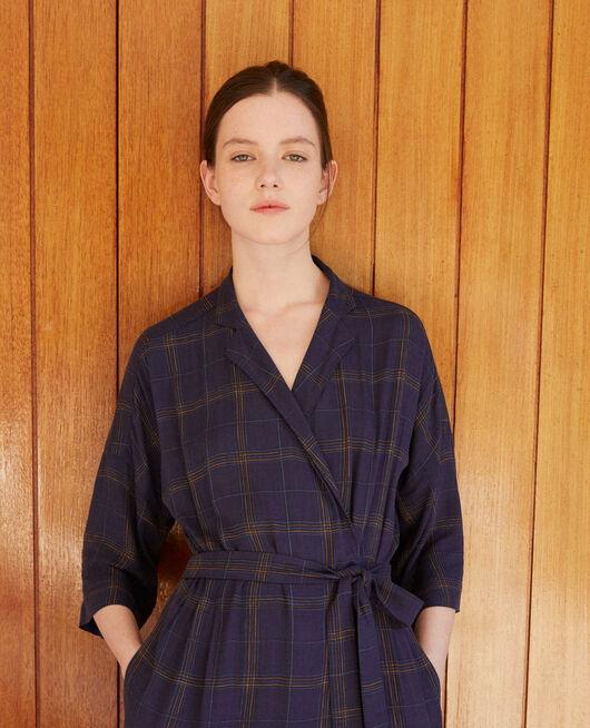 Wrap dress Blue