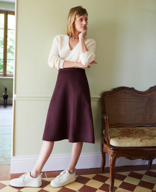 A-line skirt FUDGE