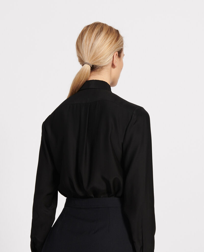 Silk shirt Black beauty Loriges