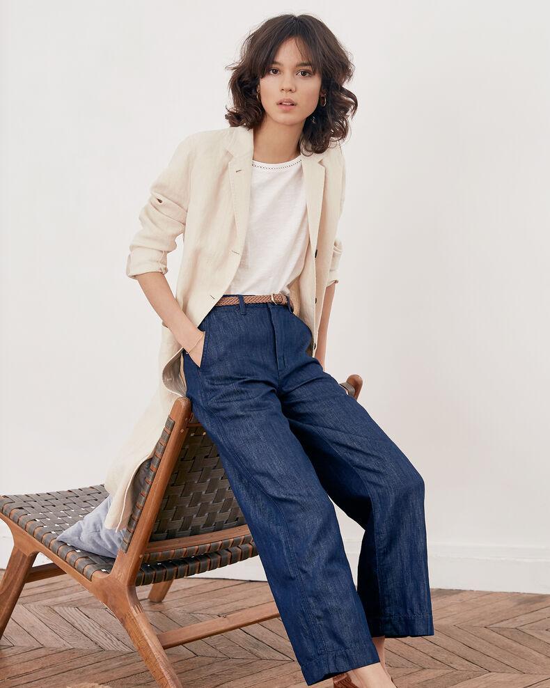 Relaxed fit jeans Dark indigo Feuillette