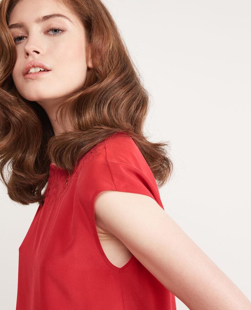 Silk blouse Chili pepper Durant
