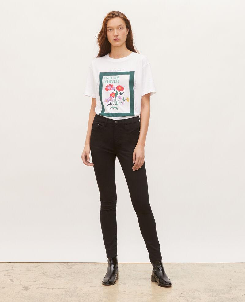 Wide cotton t-shirt Dark green Masny