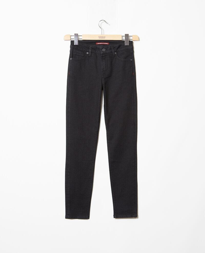 Skinny jeans Noir Iskibla