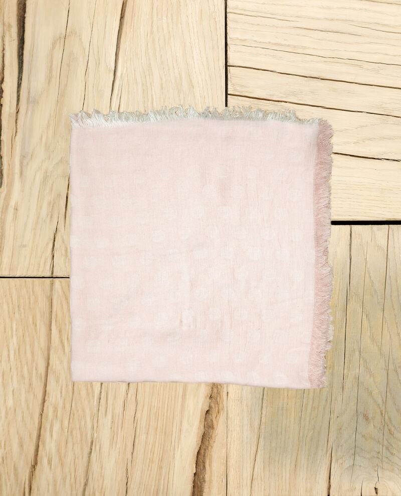 Polka dot scarf Pink Ipois