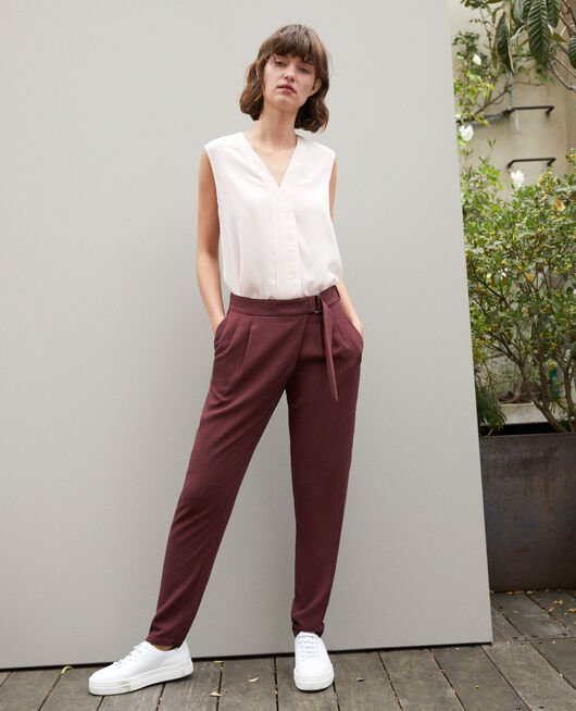 Harem pants  Marron
