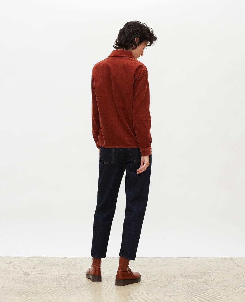 Corduroy work jacket Brandy brown Malipine