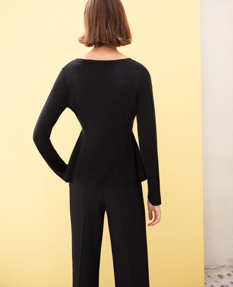 Wool jumper  Noir Icarpan
