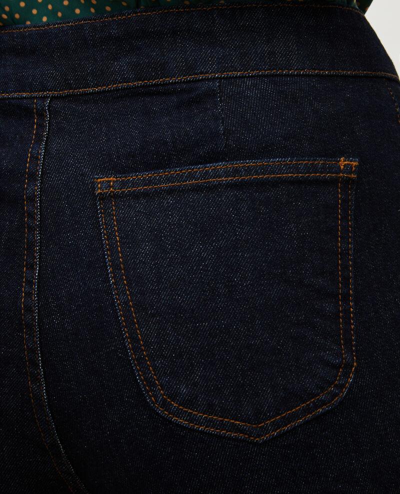 CHINO - High-waisted denim carrot pants Denim rinse Muzol