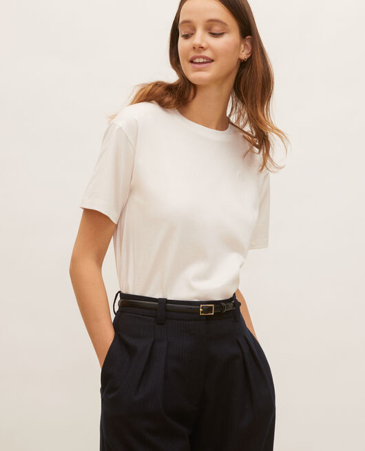 Oversize cotton t-shirt JET STREAM