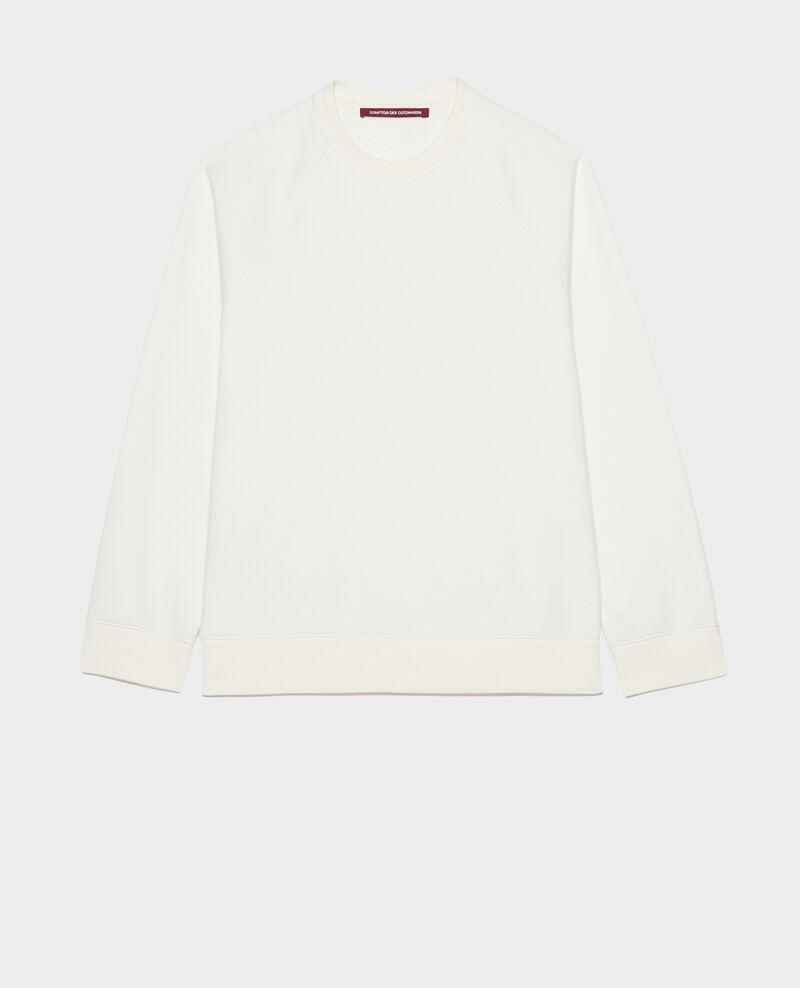 Fleece sweatshirt Gardenia Lison