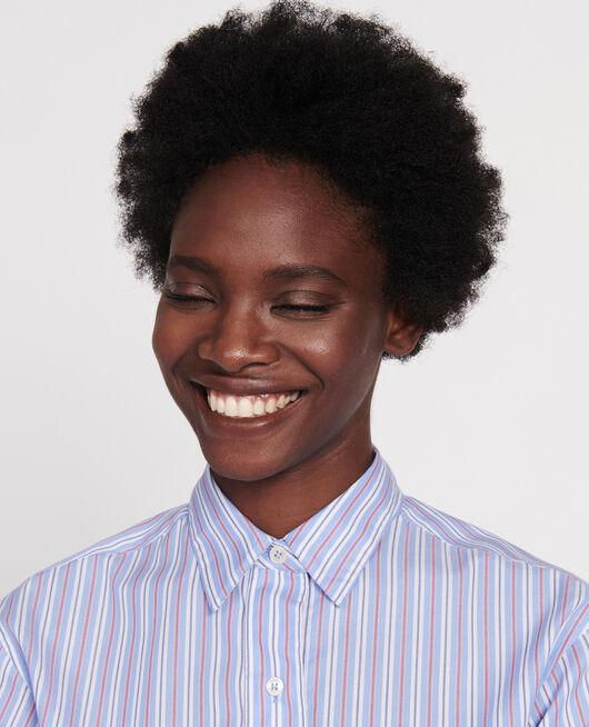 Boyfriend shirt  POPELINE STRIPES