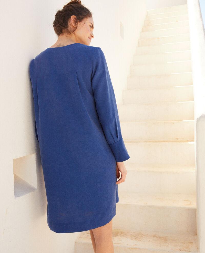 Henley dress Imperial blue Ioca