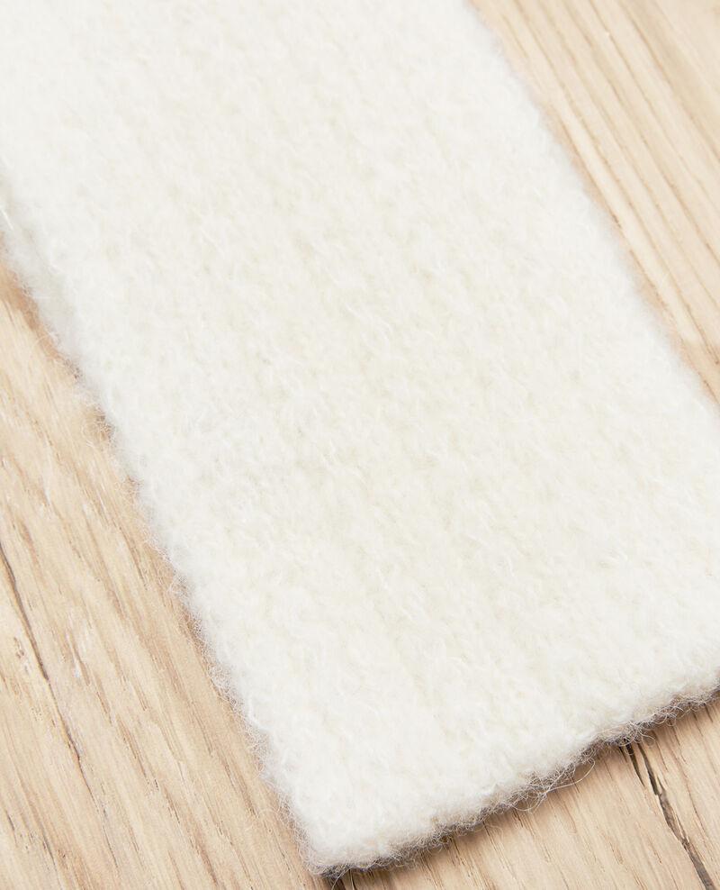 Knitted headband Off white Jihead