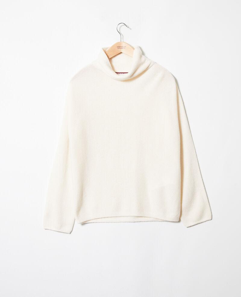 Turtleneck cashmere jumper Buttercream Jinette