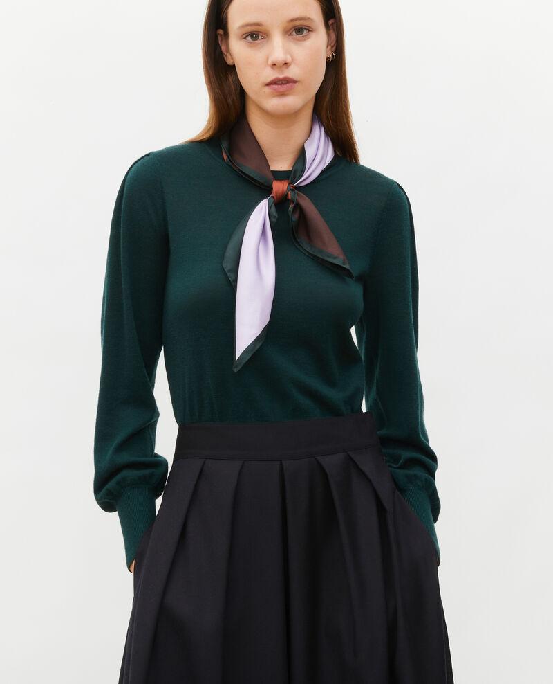 Round neck merino wool jumper Scarab Molineta