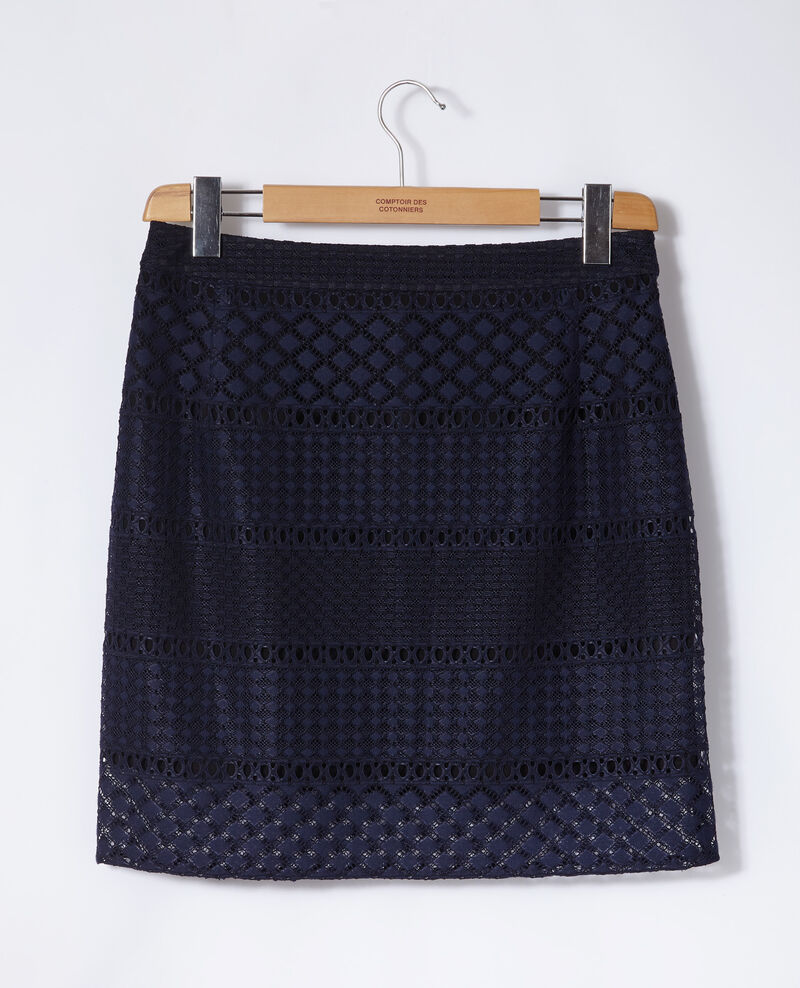 Lace skirt Blue Gimmy