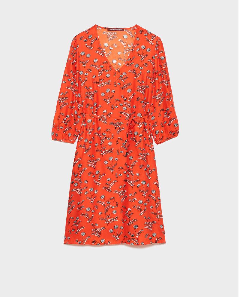 Loose silk dress Coronille spicy Novis