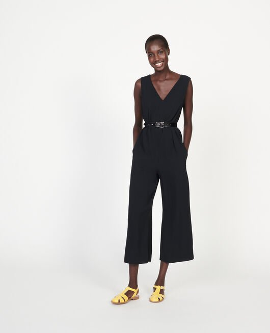 Viscose jumpsuit BLACK BEAUTY