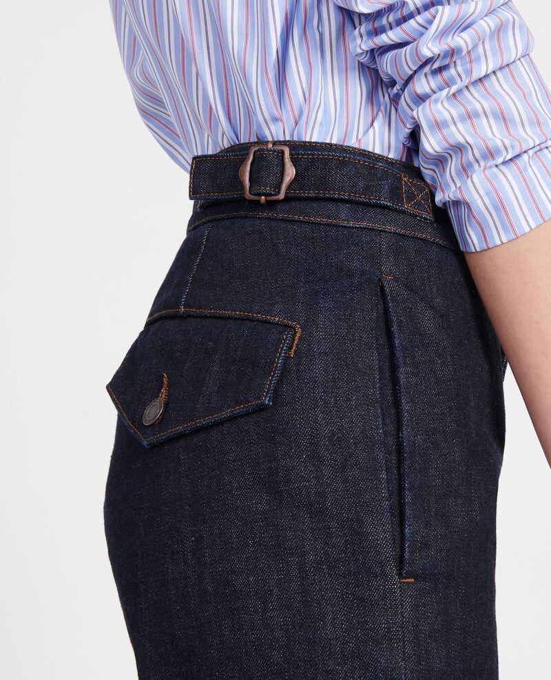 Wide leg jeans  Denim rinse Libbie