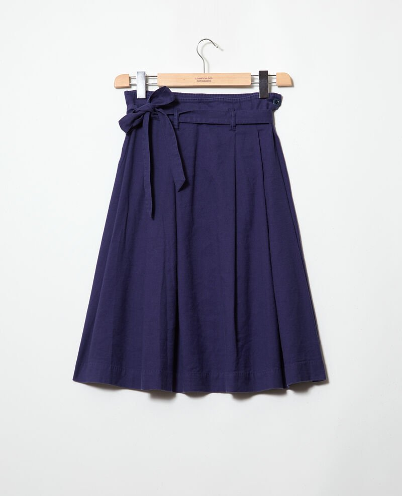 Midi skirt Sapphire navy Ivinea