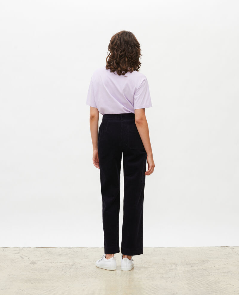Wide corduroy trousers Night sky Maora