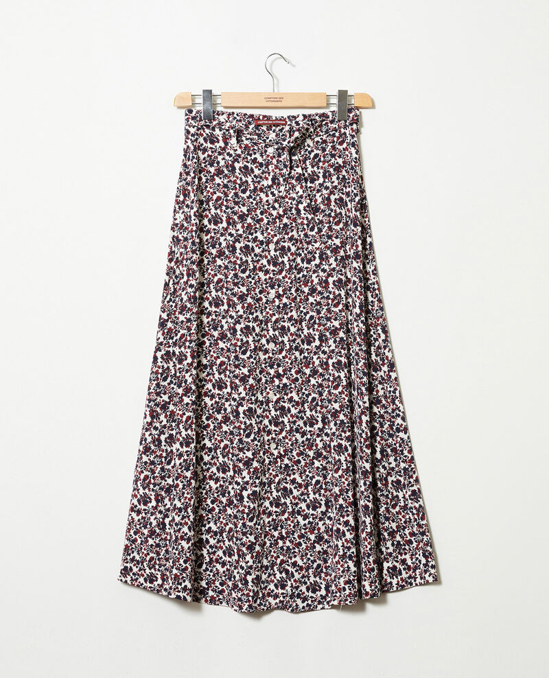 Printed maxi skirt Nf coconut milk Jura