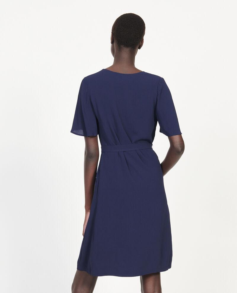 Loose dress Maritime blue Lavishort
