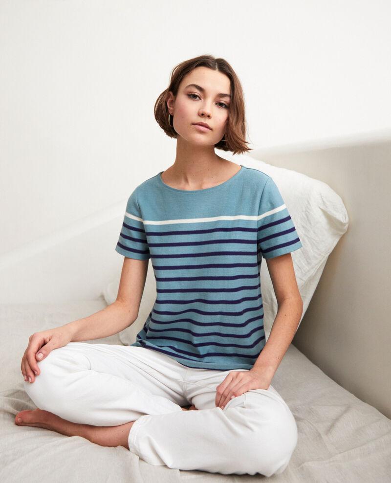 Striped T-shirt Bm/navy/ow Imarin
