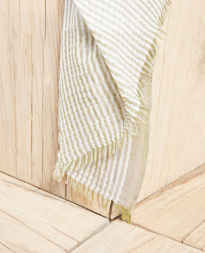 Striped scarf Blanc/light co Istripo