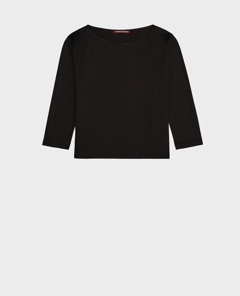 Cotton T-shirt Black beauty Lotel