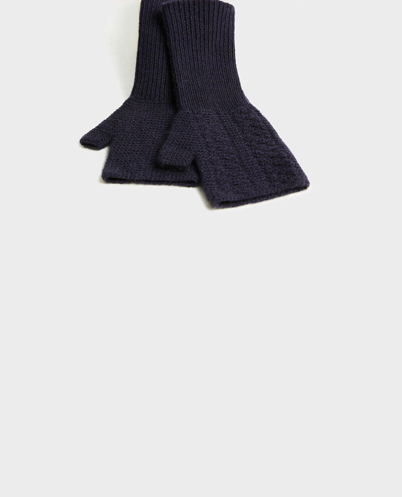 Cashmere mittens Night sky Mirabel