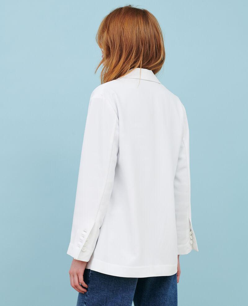 Tuxedo-style jacket Brilliant white Nevibal