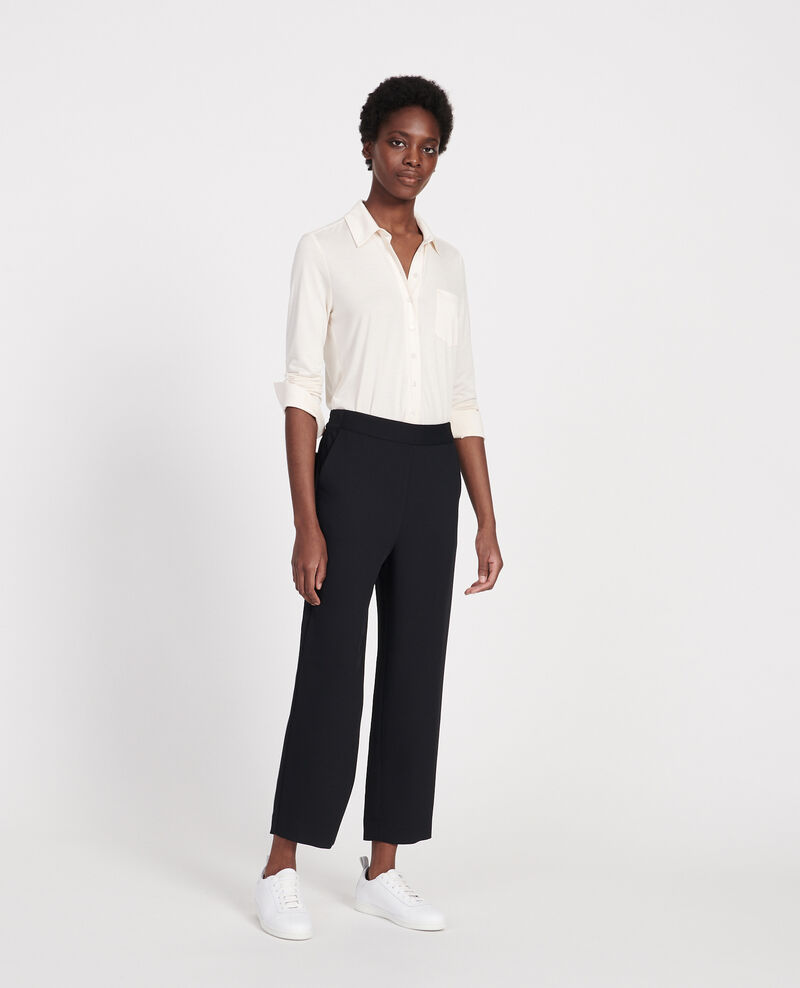 Straight-leg trousers Black beauty Luant