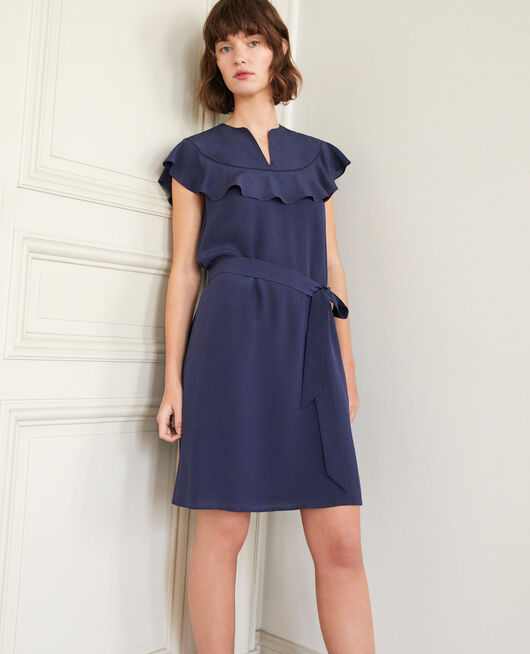 Frilly dress Blue
