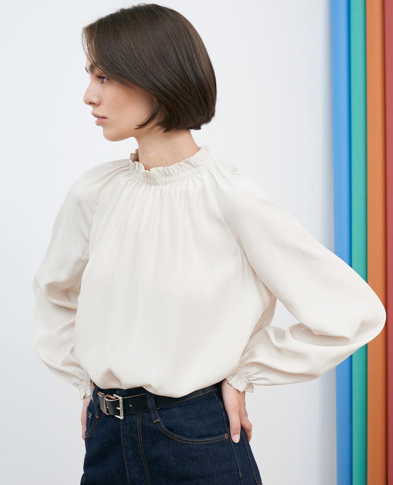 Silk blouse Rainy day Pachat