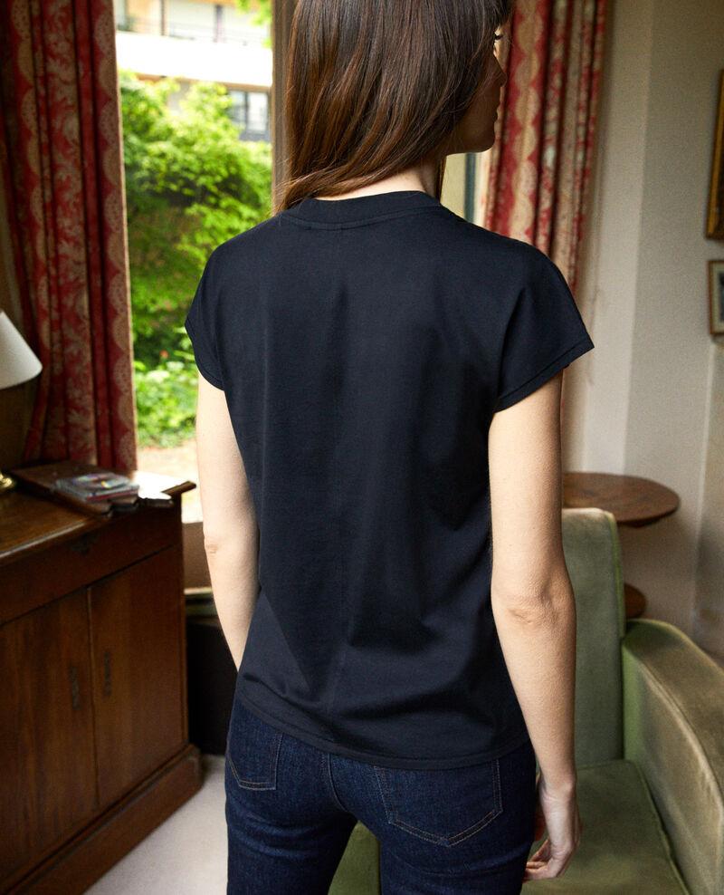 Classic t-shirt Noir Joya