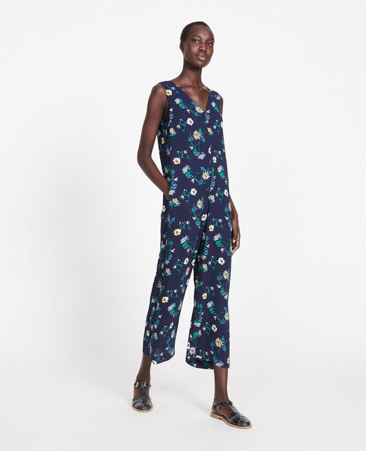 Viscose jumpsuit HERBIER MARITIME MAIZE