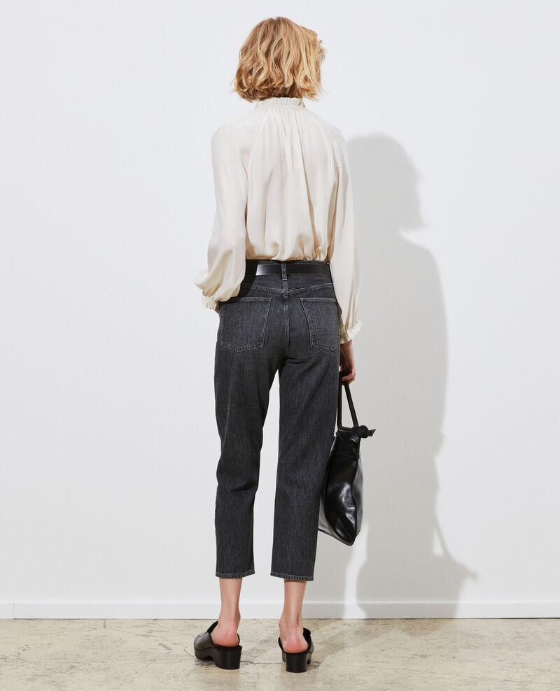 RITA - SLOUCHY - Low-rise loose jeans Vintage grey Perokey