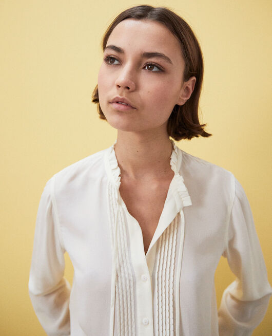 Silk blouse CHAMPAGNE