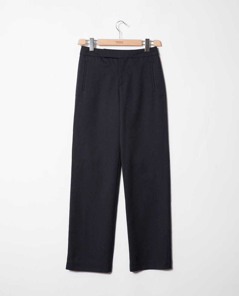 Straight-leg trousers Dark navy Joubert