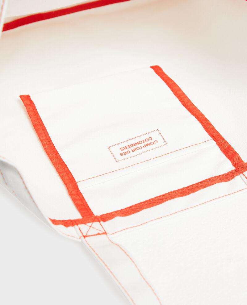 Printed canvas bag Valiant poppy Marisienne