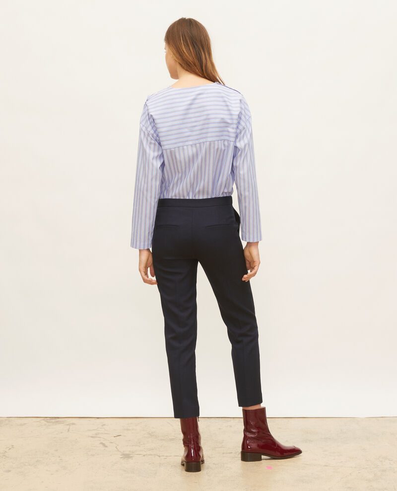 Striped oversize blouse Popeline stripes Lennon