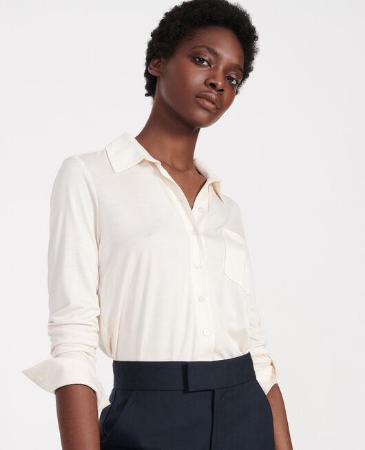 Silk shirt BUTTERCREAM