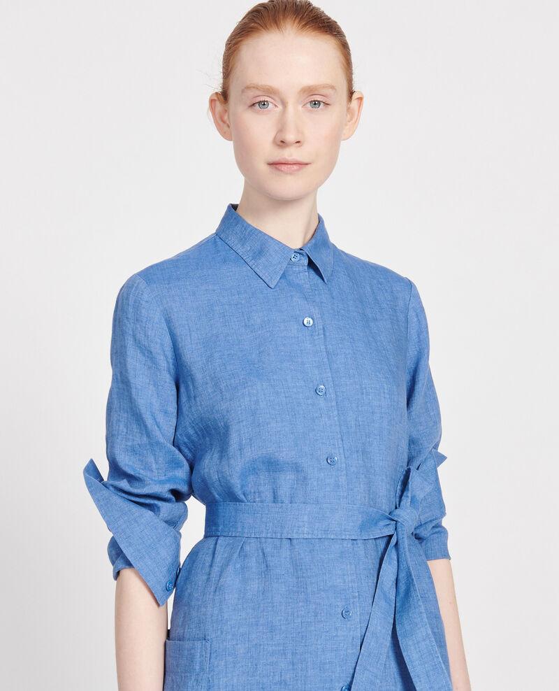 Linen dress Indigo Lesprit