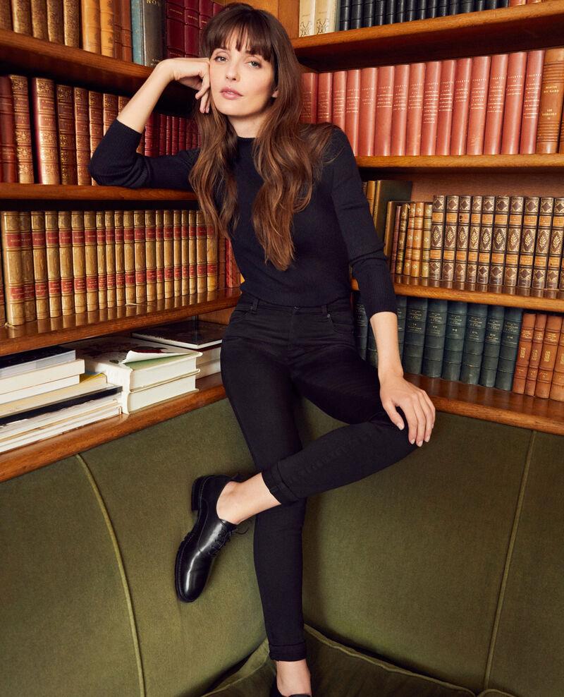 Fashion-fit jeans Noir Jani