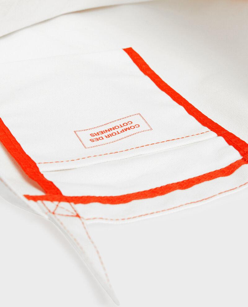 Printed canvas bag Valiant poppy Macaron