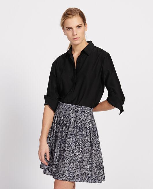 Skirt FEUILLAGE MARITIME CREAM