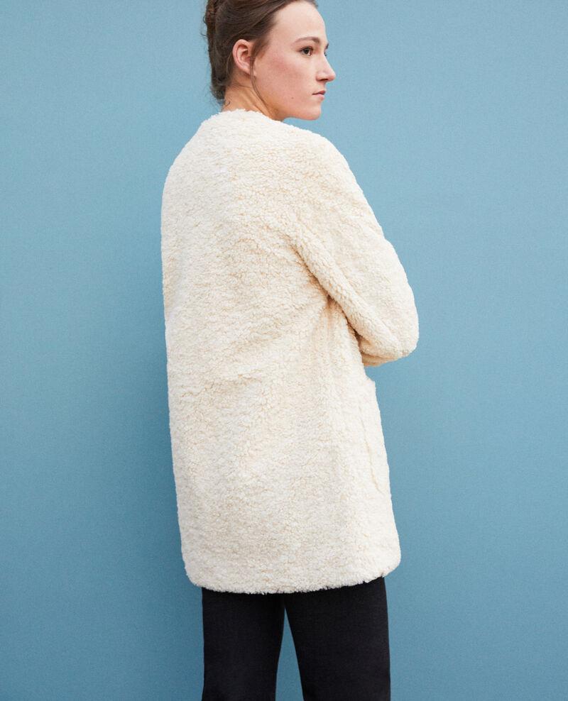 Faux fur coat Off white Germonti