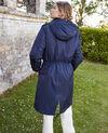 Hooded parka Evening blue Jarosse