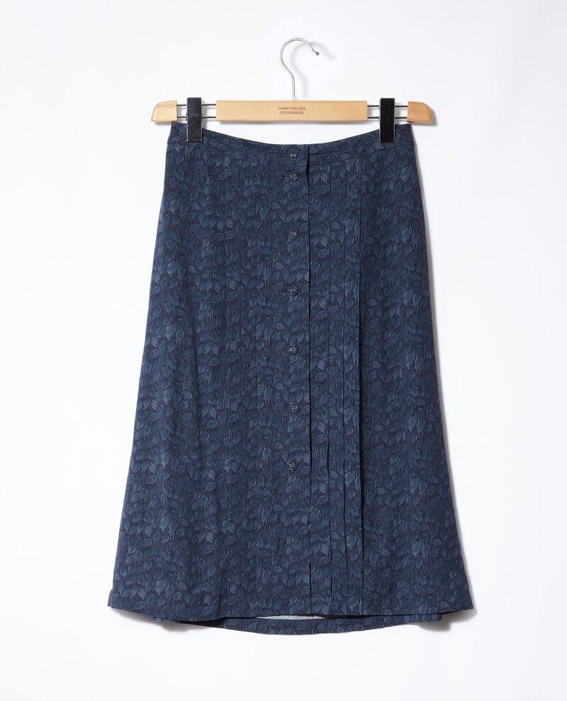 Printed skirt Blue Gidre
